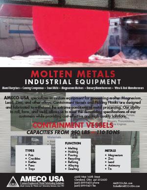 Molten Metal Industrial Equipment