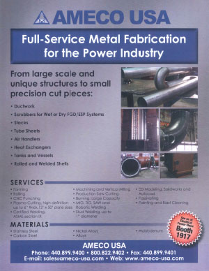 Power Industry Metal Fabrication
