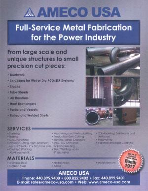 Power Industry Metal Fabrication