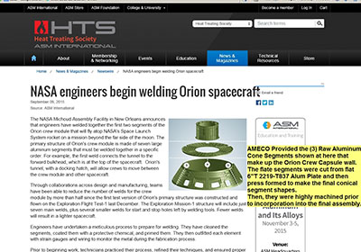 NASA Article