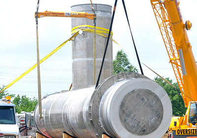 LOX and LNG Fuel Tanks